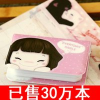 Wholesale C086 Korea cute cartoon girl card package Niuzai series of bit card bus card sets of special products