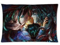 Wholesale ON SALE Pillowcase Howl s Moving Castle soft Cushion Pillow case x30 inch