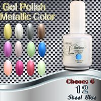 Wholesale 2015 summer new fashion women Gel Polish Metallic Color Phototherapy Nail Gel Environmental protection Nail Gel UV Nail Gel
