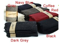Wholesale Winter Men s Army Warm Socks Long Knee High Military Sock Thermal Wool Size pieces