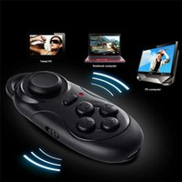 Wholesale 100 New Wireless Bluetooth Game Controller Joystick Gaming Gamepad for Android iOS Moblie Smart Phone for iPhone for Samsung