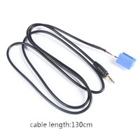 Cheap 3.5MM 8pin Aux Line Adapter Cable For VW AUDI Blaupunkt Becker CD Player