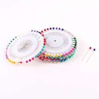 Wholesale 2015 Gift Assorted Color Length Ball Head Straight Pins Decorations