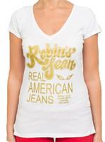 Wholesale High quality cotton robin jeans girl women female tshirt robin t shirt tee hiphop wings short sleeve shirt plus size XL
