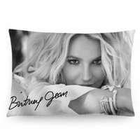 Wholesale Britney Spears Background Custom Soft Pillowcase Pillow Case Covers X30 Inches