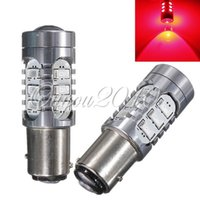 Wholesale 2x Red BAY15D SMD High Power CREE LED Car Auto Tail Stop Brake Turn Head Lights Bulb Lamp DC12V
