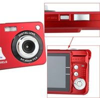 Wholesale Camera MP quot TFT X Zoom Smile Capture Anti shake Video Camcorder red or black E9010Z
