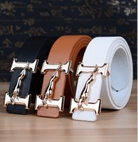 Wholesale new style P U belt man leather Han edition of joker leisure belt young fashion belts good quality