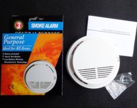 Wholesale Direct Sensitive Smoke Alarms Photoelectric Wireless Smoke Detector School Office Fire Smoke Alarm