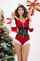 prices lingerie - New Sexy Christmas Costumes Winter Costumes Holiday Romper Lingerie Costume Cheaper Price Fast Delivery B6026