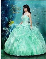 sequin appliques - 2015 New Vestidos Elegant Exquisite Ball Gown Floor length Sweetheart Applique Sequin Bead Organza Lace up Quinceanera Dresses