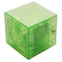 money box - New Arrival Convenient Money Maze Bank Clear Saving Coin Gift Box D Puzzle intelligence Game Plastic Toy colors bz679569