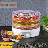 dehydrator - Food Dehydrator Fruit Meat Herbs Pet Food Vegetable Flower Tea Drying Machine Dehydrated Snack Maker Kitchen Appliance V W A3
