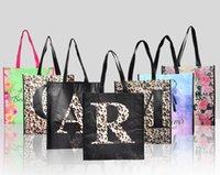 Lettre A membranées transporteur éco sac ad promotion sac fourre-tout sac shopper / R imprimé sac réutilisable / K / J / S none-tissé