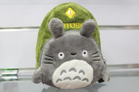 Wholesale Cute My Neighbor Totoro Carabiner Small Backpack Cartoon Digital Camera Storage Bag Phone Bag Coin Purses