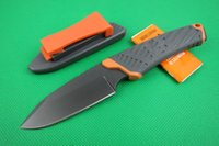 abs paper - GB bear Rescue survival knife Hiking Camping knife outdoor survival knife with original Paper box and ABS K sheath