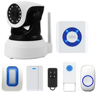 alarm panic buttons - IOS Android APP Controlled WIFI SOS Smart Doorbell Enabled Cloud Home Store Office Alarm System Push Button Wireless Security Panic Button I