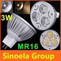 led m16 - Sinoela M16 GU10 E14 E27 X3W W W X3W W W dimmable High power CREE Light LED Bulb Lamp Downlight