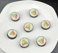 artificial sushi - High simulation mini rice sushi model artificial lifelike fake sushi kitchen toys for kids