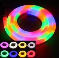 Wholesale LED Neon Sign LED Flex Rope Light PVC LED Light LED Strips LED M Indoor Outdoor Led Tube Disco Bar Pub Christmas Party Hotel Bar Decor DHL