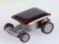 Wholesale Hot sale Popular Smallest Mini Car Solar Powered Toy Car New Mini Children Solar Toy Gift