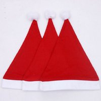 baby holiday hats - Christmas holiday party Decoration hats Xmas caps Santa Claus hat adults children kids baby Christmas Cosplay Hats gift new
