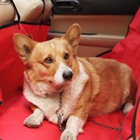 Wholesale Waterproof Easy Wash Pet Dog Car Back Seat Pet Cover Rear Hammock Cover Mat Blanket
