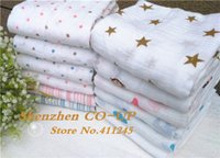 Wholesale Soft Aden and Anais Blanket Baby Swaddle Muselina Monkey Design Blanket for Newborns x120cm Muslin Cotton