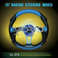 Wholesale Supply momo car steering wheel inch PVC steering wheel F1 Racing Wheel