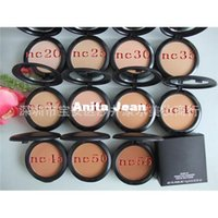 Wholesale 10PCS Foundation Brand makeup Studio Fix Powder Cake Face Powder Blot Powder Foundation makeup
