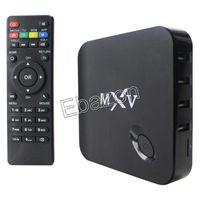 Cheap MXV S805 Android TV BOX Wifi Bluetooth H.265 Quad Core 1G RAM 8G Cortex 1.5GHZ Android 4.4 Smart TV XBMC Kodi Smart Media Player