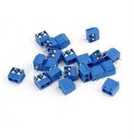 Wholesale 2015 New Luxury KF301 P mm Blue Connector Terminals Blue Screw Terminal Connector P