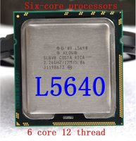 Wholesale Genuine L5640 six core thread CPU support the official version of X58 servers over L5639