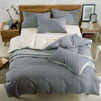 alternative covers - Home textile Reactive Print bedding sets Quilt Cover Bed sheet Pillowcase King Queen alternative duvet quilt covers sheets
