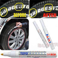 Wholesale High Qulity Tyre Permanent Paint Pen Tire Metal Outdoor Marking Ink Marker Creative Autuo Automobiles Tire Paint Care