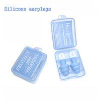 Wholesale 2015 Hot Sell Silica Gel earplugs Noise soundproof earplugs sleeping earplugs earbuds essential travel trip