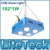 Wholesale Blue Red W COB LED Plants Grow Light with Cooling Fan Hydroponic Lamp For Indoor Flower Fruit Growth Vegetable Greenhouse