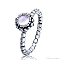 Wholesale Hot Sale Sterling Silver Sagittarius Birthstone Ring European Fine Jewelry Rings For Women Birthday wedding Anniversary Gift
