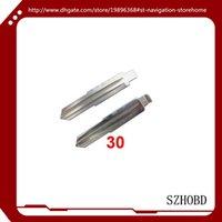Cheap 10PCS LOT Flip Keyblade for ZhongHua Wagon for car key + free shipping
