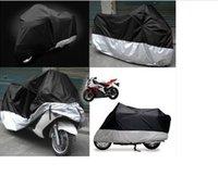 Wholesale New Black Motorcycle Waterproof Outdoor Motorbike Rain Vented Bike Cover Large L Motorcycle Waterproof Outdoor Motorbike Rain