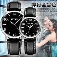 antique pair tables - Archer Korean couple watches couple watch one pair of genuine men s fashion students watch female models on the table
