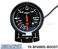 Wholesale Tansky Defi mm BOOST GAUGE High Quality Car Turbo Gauge Boost Gauge with Red White Light TK BF60001 BOOST