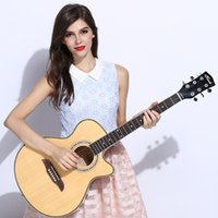 authentic guitars - Faster delivered Authentic Andrew Electric Acoustic or Inch Guitar Come With Case Strap Tuner Pick Extra strings
