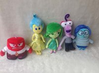happy - 2015 New Style Happy Birthday Colors Movie Anger Inside Out Plush Doll Toys Blue Red Purple Yellow Green