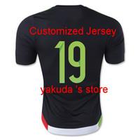 México 15-16 # 19 camisetas de fútbol PERALTA Tailandia O. a la venta para barato, descuento precio al por mayor de China, Jersey barata tienda en línea!