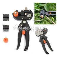 Wholesale Professional Garden Fruit Tree Pruning Shear Grafting Cutting Tool w Blades