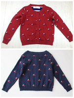 baby buttons for sweaters - sailing clothing baby knit cardigan sweater sailing clothes long sleeve sweater cardigan with buttons for boys girls in stock