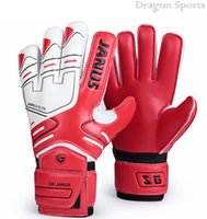 Wholesale Professional Adult Football Goalkeeper Gloves Men Latex Goalie Soccer Goalie Gloves