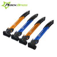 bidirectional valve - RockBros Psi Bike Cycling Bicycle Portable Air Pump Unidirectional Bidirectional Pump Inflator Fit Presta Schrader Valve
