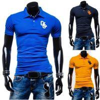 Cheap 2015 Sale Cotton Sport Mens Polo shirt,Top Quality Man's Clothing Short Sleeve Mens Tops POLO Men Shirt, XXL plus size POLO